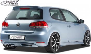 RDX Heckansatz VW Golf 6 Heckeinsatz Heckblende Diffusor