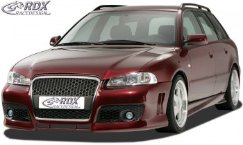"""RDX Motorhaubenverlängerung Audi A4 B5 """"SingleFrame"""" Böser Blick"""