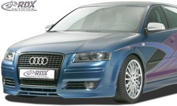 RDX Frontspoiler Audi A3 8P (2006 bis 2008) Frontlippe Front Ansatz Spoilerlippe