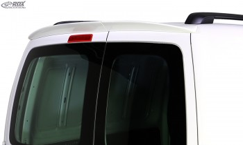 RDX Roof Spoiler VW Caddy 1T / 2K Barn Door (2 Rear Doors)