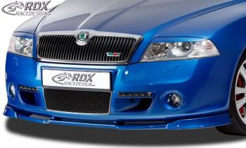 RDX Frontspoiler VARIO-X SKODA Octavia 2 RS Typ 1Z -2008 Frontlippe Front Ansatz Vorne Spoilerlippe