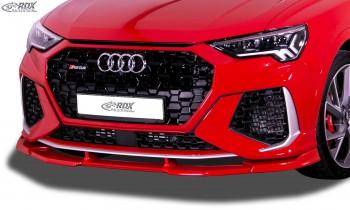 RDX Frontspoiler VARIO-X für AUDI RS Q3 (F3) Frontlippe Front Ansatz Vorne Spoilerlippe