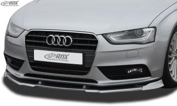 RDX Frontspoiler VARIO-X für AUDI A4 B8 Facelift 2011+ Frontlippe Front Ansatz Vorne Spoilerlippe