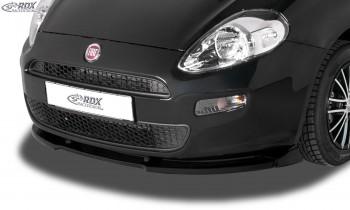 RDX Frontspoiler VARIO-X FIAT Punto (199) 2012-2018 Frontlippe Front Ansatz Vorne Spoilerlippe