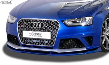 RDX Frontspoiler VARIO-X AUDI RS4 B8 Frontlippe Front Ansatz Vorne Spoilerlippe