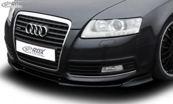 RDX Frontspoiler VARIO-X für AUDI A6 4F 2008-2011 Frontlippe Front Ansatz Vorne Spoilerlippe