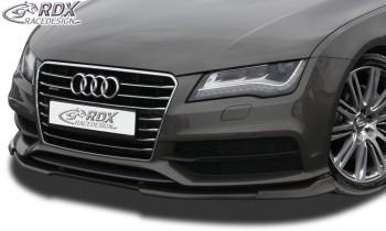RDX Frontspoiler VARIO-X für AUDI A7 & S7 2010-2014 (S-Line bzw. S7 Frontstoßstange) Frontlippe Front Ansatz Vorne Spoilerlippe