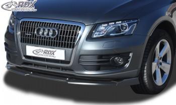 RDX Frontspoiler VARIO-X AUDI Q5 -2012 & 2012+ Frontlippe Front Ansatz Vorne Spoilerlippe