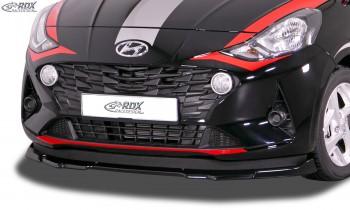 RDX Front Spoiler VARIO-X for HYUNDAI i10 (AC3) 2020+ Front Lip Splitter