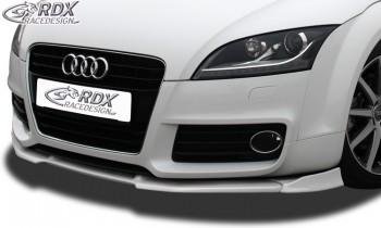 RDX Frontspoiler VARIO-X für AUDI TT 8J -2010 (S-Line Frontstoßstange) Frontlippe Front Ansatz Vorne Spoilerlippe