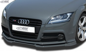 RDX Frontspoiler VARIO-X für AUDI TTS 8J Frontlippe Front Ansatz Vorne Spoilerlippe