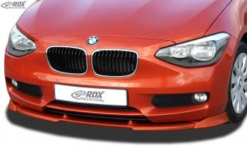 RDX Frontspoiler VARIO-X für BMW 1er F20 / F21 2011-2015 Frontlippe Front Ansatz Vorne Spoilerlippe