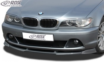 RDX Frontspoiler VARIO-X BMW 3er E46 Coupe / Cabrio 2003+ Frontlippe Front Ansatz Vorne Spoilerlippe