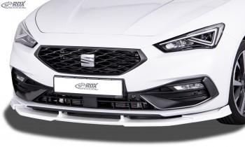 RDX Frontspoiler VARIO-X für SEAT Leon (KL) 2020+ Frontlippe Front Ansatz Vorne Spoilerlippe