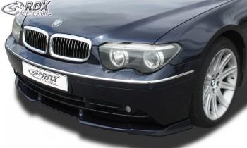 RDX Frontspoiler VARIO-X BMW 7er E65 / E66 -2005 Frontlippe Front Ansatz Vorne Spoilerlippe