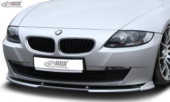 RDX Frontspoiler VARIO-X BMW Z4 E85, E86 2006+ Frontlippe Front Ansatz Vorne Spoilerlippe