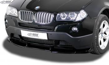 RDX Front Spoiler VARIO-X BMW X3 E83 2003-2010 Front Lip Splitter
