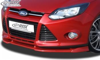 RDX Frontspoiler VARIO-X FORD Focus 3 Frontlippe Front Ansatz Vorne Spoilerlippe