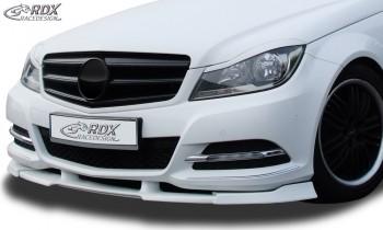 RDX Frontspoiler VARIO-X MERCEDES C-Klasse W204 2011+ Frontlippe Front Ansatz Vorne Spoilerlippe