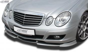 RDX Frontspoiler VARIO-X MERCEDES E-Klasse W211 2006+ Frontlippe Front Ansatz Vorne Spoilerlippe