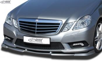 RDX Frontspoiler VARIO-X für MERCEDES E-Klasse W212 AMG-Styling 2009-2013 (Passend an Fahrzeuge mit AMG-Styling Frontstoßstange) Frontlippe Front Ansatz Vorne Spoilerlippe