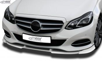 RDX Frontspoiler VARIO-X MERCEDES E-Klasse W212 2013+ Frontlippe Front Ansatz Vorne Spoilerlippe