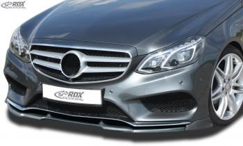RDX Frontspoiler VARIO-X für MERCEDES E-Klasse W212 AMG-Styling 2013+ (Passend an Fahrzeuge mit AMG-Stylingpaket Frontstoßstange) Frontlippe Front Ansatz Vorne Spoilerlippe