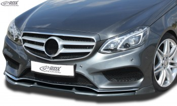 RDX Frontspoiler VARIO-X MERCEDES E-Klasse W212 AMG-Styling 2013+ (Passend an Fahrzeuge mit AMG-Stylingpaket Frontstoßstange) Frontlippe Front Ansatz Vorne Spoilerlippe
