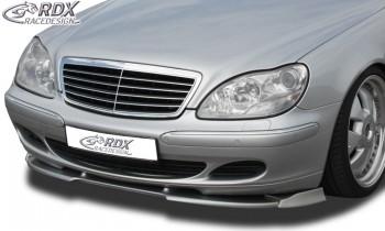 RDX Frontspoiler VARIO-X MERCEDES S-Klasse W220 2002+ Frontlippe Front Ansatz Vorne Spoilerlippe