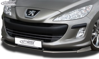 RDX Frontspoiler VARIO-X PEUGEOT 308 Phase 1 Frontlippe Front Ansatz Vorne Spoilerlippe