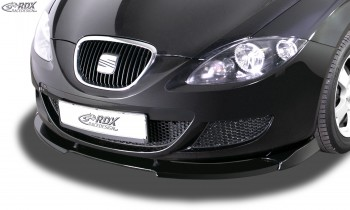 RDX Frontspoiler VARIO-X für SEAT Leon 1P -2009 (nicht FR, Cupra) Frontlippe Front Ansatz Vorne Spoilerlippe