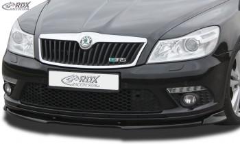 RDX Frontspoiler VARIO-X SKODA Octavia 2 RS Facelift Typ 1Z 2008+ Frontlippe Front Ansatz Vorne Spoilerlippe