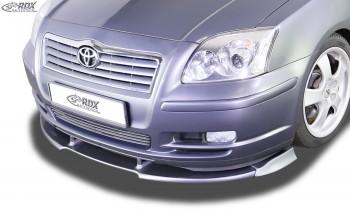 RDX Frontspoiler VARIO-X TOYOTA Avensis (T25) 2003-2006 Frontlippe Front Ansatz Vorne Spoilerlippe