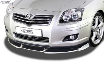 RDX Frontspoiler VARIO-X TOYOTA Avensis (T25) 2006-2009 Frontlippe Front Ansatz Vorne Spoilerlippe