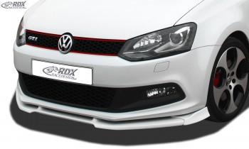 RDX Frontspoiler VARIO-X VW Polo 6R GTI Frontlippe Front Ansatz Vorne Spoilerlippe