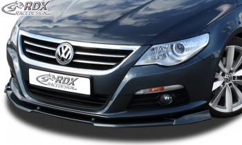 RDX Frontspoiler VARIO-X VW Passat CC -2012 Frontlippe Front Ansatz Vorne Spoilerlippe