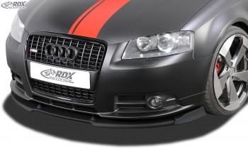 RDX Frontspoiler VARIO-X AUDI A3 8P 2006-2008 S-Line / A3 Sportback -2008 S-Line Frontlippe Front Ansatz Vorne Spoilerlippe