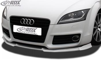 RDX Frontspoiler VARIO-X für AUDI TT 8J Facelift 2010+ Frontlippe Front Ansatz Vorne Spoilerlippe