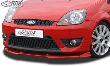 RDX Frontspoiler VARIO-X FORD Fiesta ST MK6 JH1 JD3 Frontlippe Front Ansatz Vorne Spoilerlippe