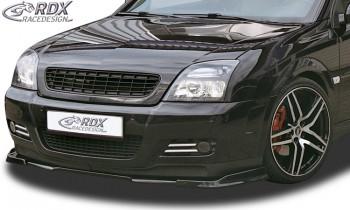 RDX Frontspoiler VARIO-X für OPEL Vectra C GTS (Passend an GTS bzw. Fahrzeuge mit GTS Frontstoßstange) Frontlippe Front Ansatz Vorne Spoilerlippe