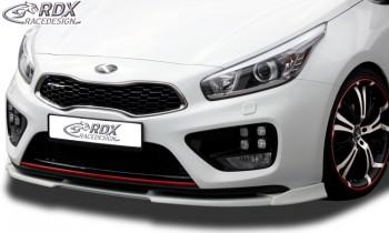 RDX Frontspoiler VARIO-X für KIA Ceed GT & Pro Ceed GT Typ JD Frontlippe Front Ansatz Vorne Spoilerlippe