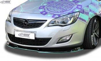 RDX Frontspoiler VARIO-X OPEL Astra J -2012 Frontlippe Front Ansatz Vorne Spoilerlippe