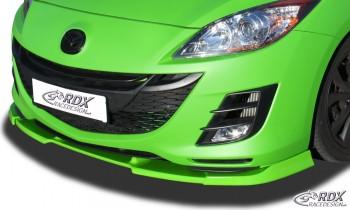 RDX Frontspoiler VARIO-X für MAZDA 3 (BL) 2009-2011 Frontlippe Front Ansatz Vorne Spoilerlippe