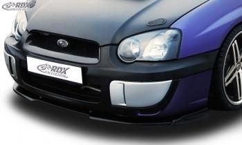 RDX Frontspoiler VARIO-X SUBARU Impreza 3 (GD) WRX 2003-2005 Frontlippe Front Ansatz Vorne Spoilerlippe
