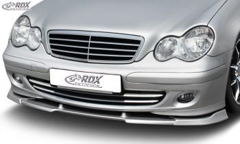 RDX Frontspoiler VARIO-X MERCEDES C-Klasse W203 2004+ Frontlippe Front Ansatz Vorne Spoilerlippe