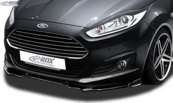 RDX Frontspoiler VARIO-X für FORD Fiesta MK7 JA8 JR8 (2012+) Frontlippe Front Ansatz Vorne Spoilerlippe