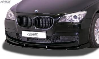 RDX Frontspoiler VARIO-X BMW 7er F01 / F02 i.V.m. M-Paket (2008-2015) Frontlippe Front Ansatz Vorne Spoilerlippe
