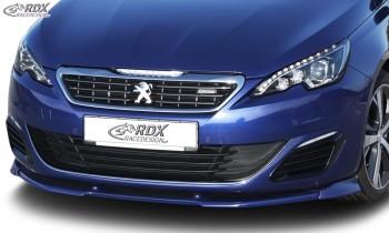 RDX Frontspoiler VARIO-X PEUGEOT 308 (Typ L) GT / GTi Frontlippe Front Ansatz Vorne Spoilerlippe