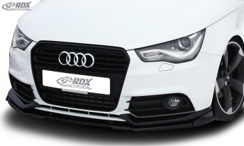 RDX Frontspoiler VARIO-X AUDI A1 8X & A1 8XA Sportback Competition (-01/2015) Frontlippe Front Ansatz Vorne Spoilerlippe