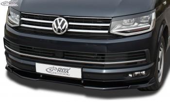 RDX Frontspoiler VARIO-X VW T6 2015+ (für werkseitig lackierte und unlackierte Stoßstange) Frontlippe Front Ansatz Vorne Spoilerlippe